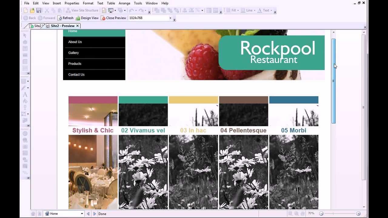 Serif WebPlus X7 Tutorial - Editing Sliders