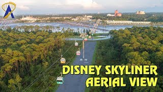 Aerial View of Disney Skyliner - Opening Sept. 29, 2019