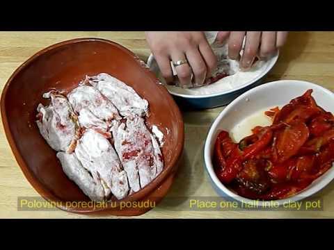 Recept za musaku od pecenih paprika - Roasted peppers moussaka recipe