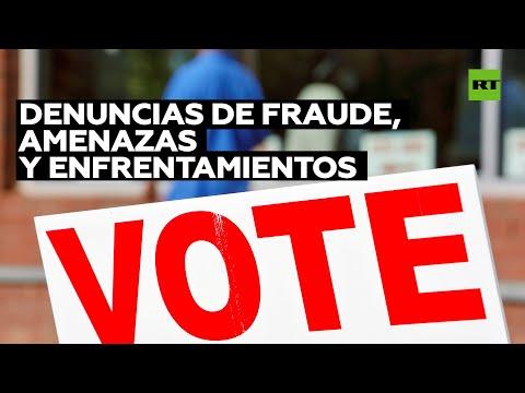 Presidenciales de EE.UU.: denuncias de fraude, amenazas y enfrentamientos