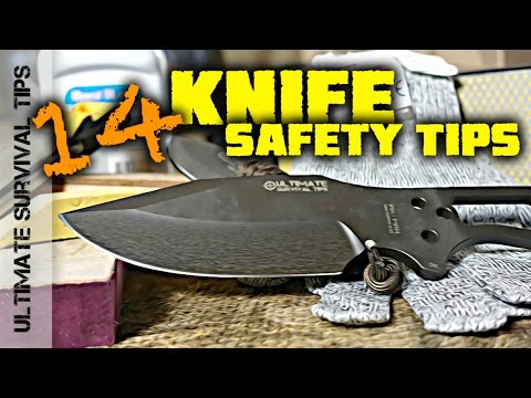 14 KEYS to KNIFE SAFETY and Handling - You Need to Know