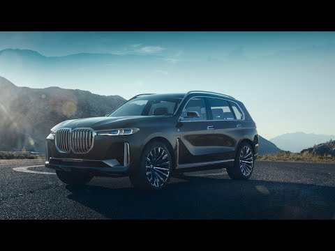 BMW launches spacious X7 concept car as part of new luxury vehicle range