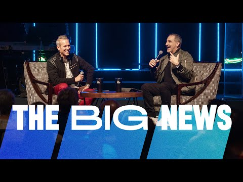 Better Together Big Announcement // Pastor Michael Turner and Pastor Rob Jones