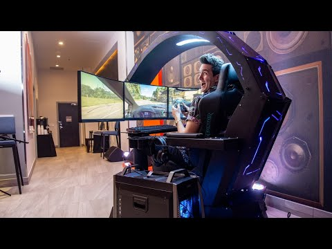 Acer's $10,000 Gaming Cockpit is Insanely Cool - CES 2019 - UCKy1dAqELo0zrOtPkf0eTMw
