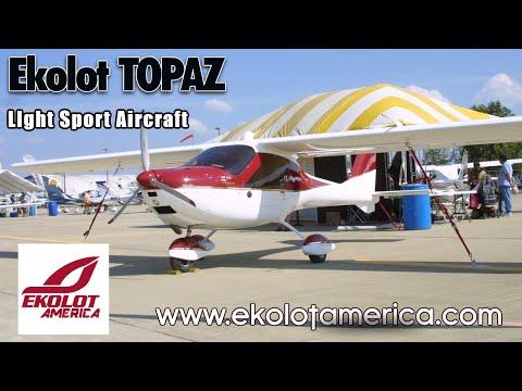 Ekolot Topaz, Light Sport Aircraft, Ekolot America, Midwest LSA Expo Mt  Vernon Illinois.