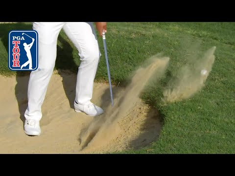 Slow-mo divots on the PGA TOUR