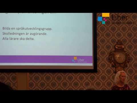 Språkutvecklande arbetssätt med Åsa Sebelius, del 2 av 4