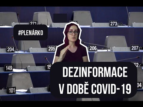Boj proti dezinfo kampaním a svoboda projevu [PLENÁRKO #5]