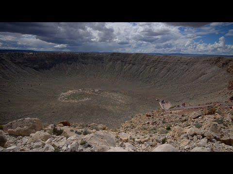 School of Earth & Space Exploration Meteor Crater Visit
