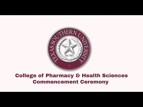 Winter 2020 Commencement  - College of Pharmacy & Health Sciences