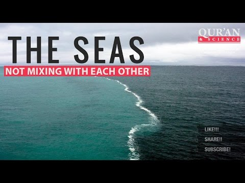The Seas not mixing with each other ┇ Quran and Modern Science ┇ IslamSearch
