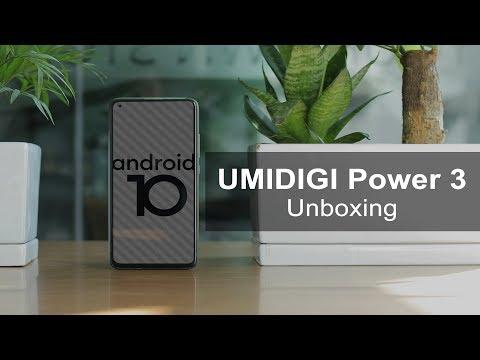 UMIDIGI Power 3: Unboxing the Quad Camera Power Monster