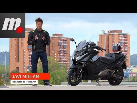 Kymco AK 550   Prueba / Test / Review en español   motos.net
