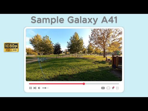 Test di ripresa in Full HD da Samsung Ga …