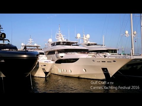 Gulf Craft at the Cannes Yachting Festival 2016