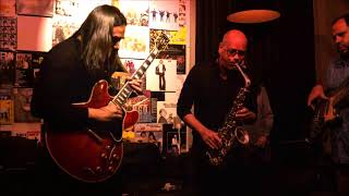 Krosswindz live jazz in Amsterdam with Jan Kooper  - tukiguitarman , Fusion