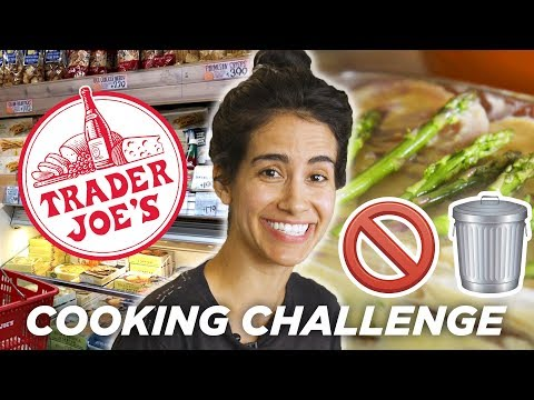 Home Chef Tries The No Trash Trader Joe's Challenge