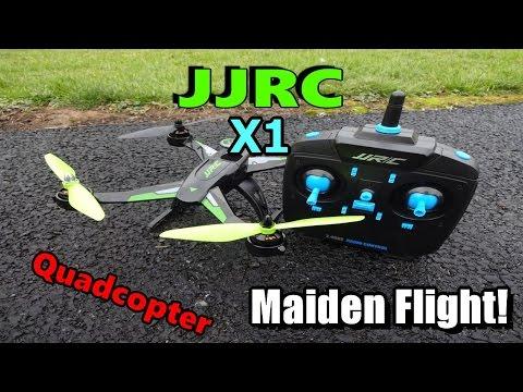JJRC X1 Maiden Flight! - UC2c9N7iDxa-4D-b9T7avd7g