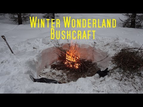 Winter Wonderland Bushcraft.