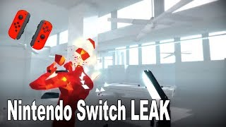 SUPERHOT Leaked for the Nintendo Switch
