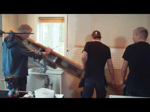 Kökspatrullen 2017 - Avsnitt 2, Renoveringen tar fart