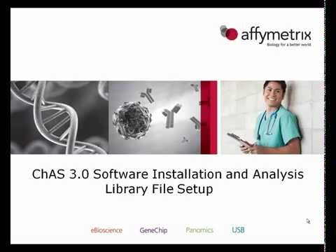 ChAS Software Installation and Analysis Library Setup