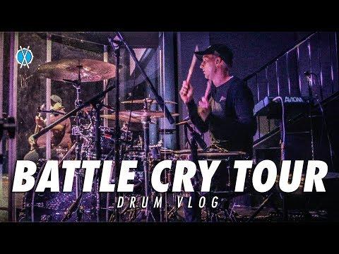 Battle Cry Tour!! // Drum Vlog