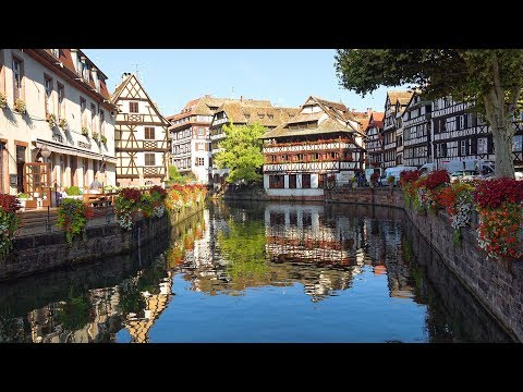 Strasbourg, Alsace, France in 4K Ultra HD