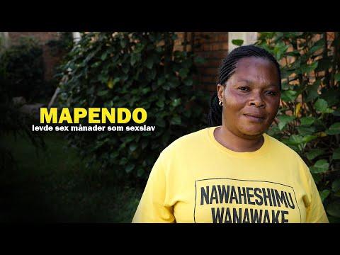 Mapendo levde som sexslav