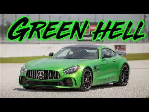 Green Hell Mercedes AMG GT-R Battles Lamborghini - Chevrolet - Nissan - Jeep