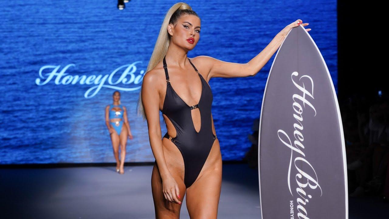 HONEY BIRDETTE LIVE / Lingerie Fashion Show / Miami swim week July 2021