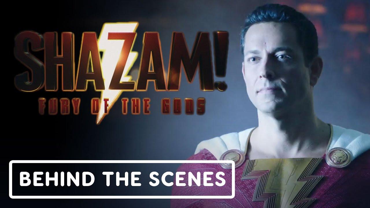 Shazam! Fury of the Gods – Behind the Scenes Clip | DC FanDome 2021