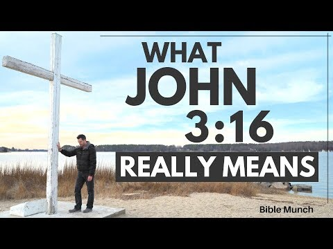 John 3:16 - What the most popular Bible verse REALLY means  Bible Munch