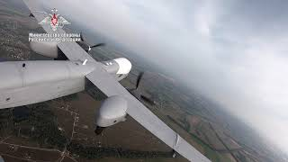 First Flight of Russia's Altius U Long Range Unmanned Aircraft