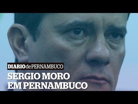 Em Pernambuco, Moro cogita continuidade da Força Nacional no estado