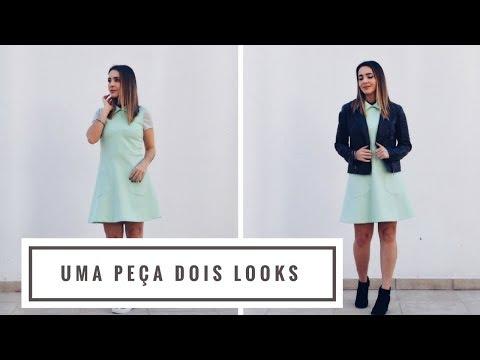 UMA peça, DOIS looks com vestido | Looks da Fê