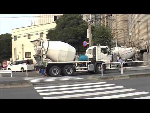 cement trucks in Japan
