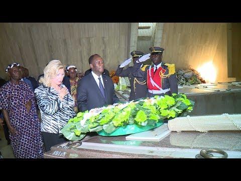 Commémoration du 25e anniversaire du décès du Président Félix HOUPHOUËT BOIGNY