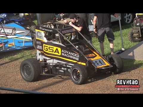 Speedcars Fraser Coast Cup - Highlights - Maryborough Speedway - 23/10/2021 - dirt track racing video image