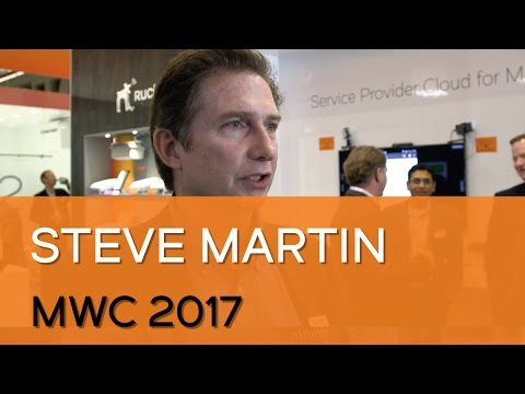 MWC 2017: Steve Martin Interview