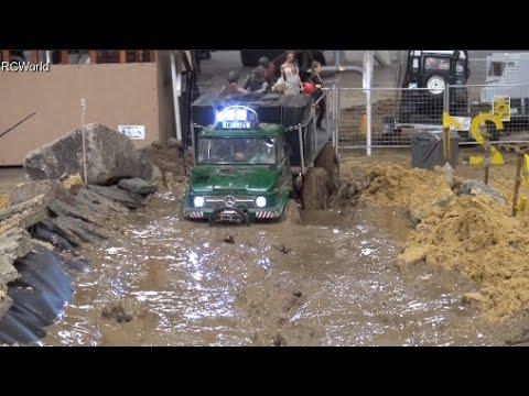 RC Off Road Course in Mud 4x4 Jeep Land Rover Trucks Ural ♦ Erlebniswelt Modellbau Kassel 2016 - UC6C5O576ztUXaBLysupn4wg