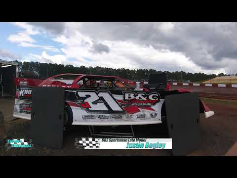 Ride along with Justin Begley as he races his was around historic Dixie Speedway on 07/24/2021 - dirt track racing video image