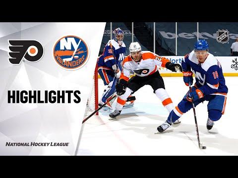 Flyers @ Islanders 4/8/21| NHL Highlights