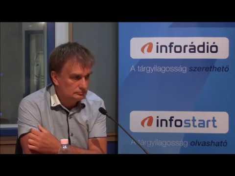 InfoRádió - Aréna - Tamasi József - 1. rész - 2019.08.16.