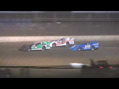 Steel Block A-Main from Portsmouth Raceway Park, October 16th, 2021. - dirt track racing video image
