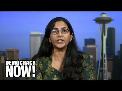 """Seattle Is Not For Sale"": Voters Rebuke Amazon, Re-electing Socialist Kshama Sawant"