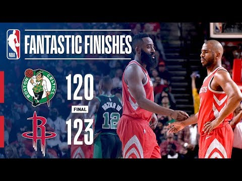 Best Of Crunch Time: Celtics vs Rockets Down To The Wire!