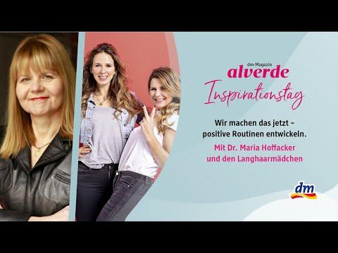alverde-Inspirationstag x Dr. Maria Hoffacker und die Langhaarmädchen: Positive Routinen entwickeln