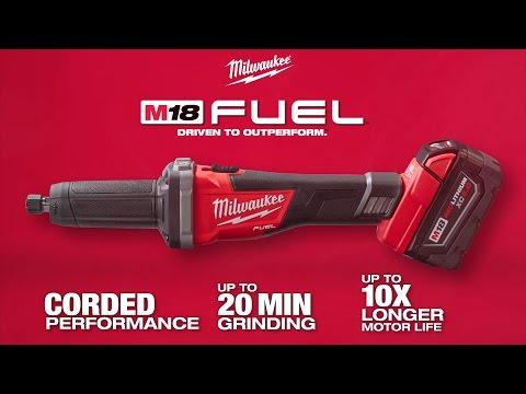 "Milwaukee® M18 FUEL™ ¼"" Die Grinder"