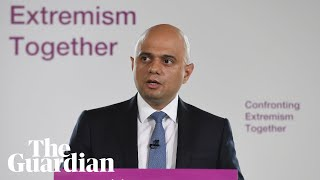 Sajid Javid praises Nigel Farage in speech on extremism